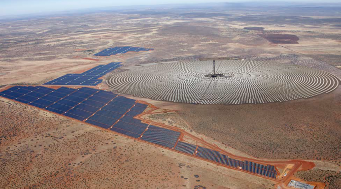 South Africa awards SolarReserve group 100 MW Concentrated Solar Power (CSP) project