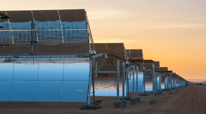 Abengoa closes USD 660 million project financing for Concentrated Solar Power (CSP) Xina Solar One