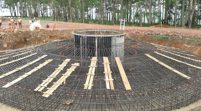 CTE WIND supervises the installation of reinforcement of Melowind Wind Farm in Uruguay