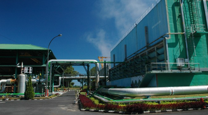 Alstom to build a turnkey geothermal energy plant in Indonesia