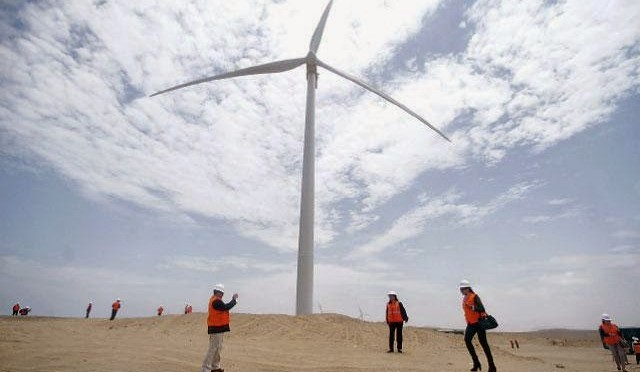 Wind energy in Peru: first wind farm in Cajamarca