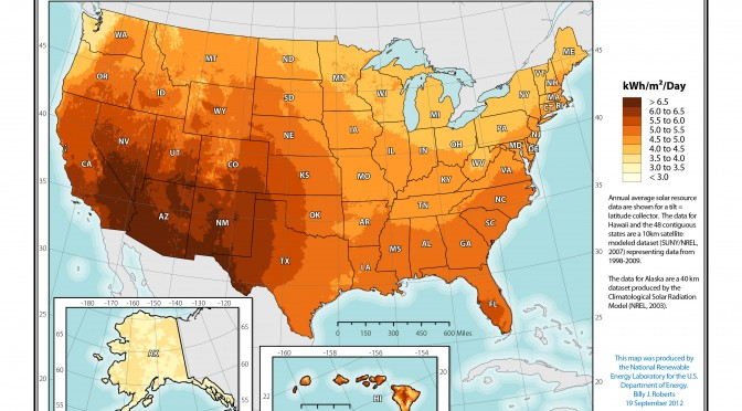 State of solar power in the U.S.