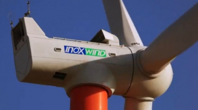 Inox Wind has received a 166 MW wind energy contract from Green Infra