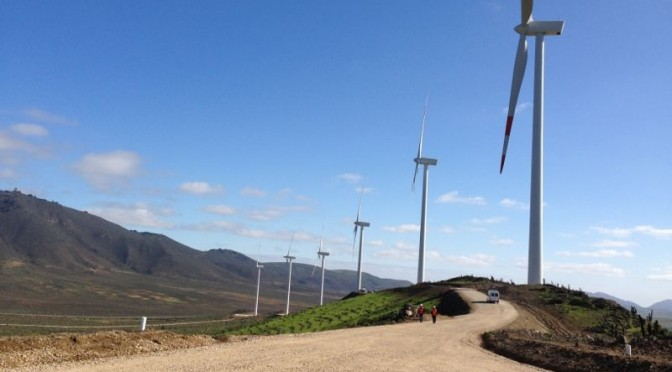 Wind power in Chile, Goldwind's wind turbines for Chile wind farm