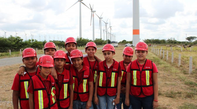 International prize awarded to Acciona for sustainability with a wind power project in Mexico