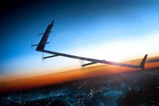 Facebook develops solar power drones