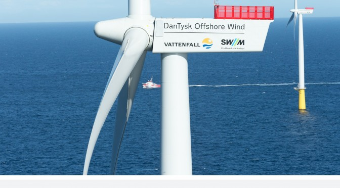 Germany's DanTysk offshore wind power plant officially inaugurated
