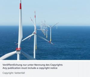 DanTysk Offshore-Windkraftwerk / DanTysk offshore wind power plant