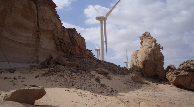 Egypt to build the largest wind farm in the MENA