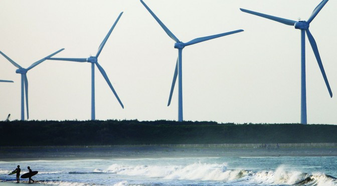 Japan could triple power from wind energy and solar power by 2030