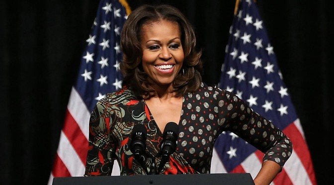 First Lady Michelle Obama credits renewable energy for hiring veterans