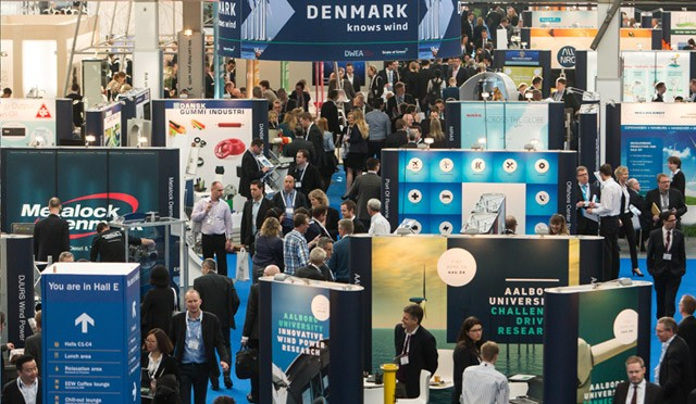 Largest offshore wind energy conference draws over 8000 delegates from around the world