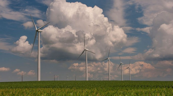MidAmerican Energy places 356 MW wind power order for the 2,000 MW Wind XI project in Iowa