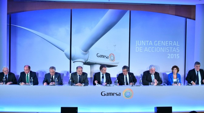 Gamesa More Than Doubles Profit In First Half Of 2015