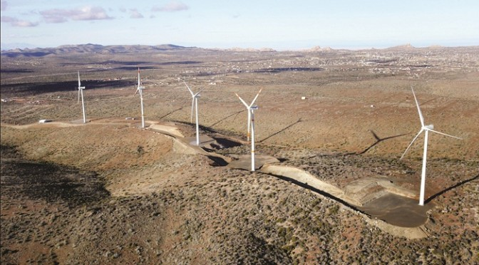 First U.S.-Mexico cross-border wind farm inaugurated in Tecate, Baja California