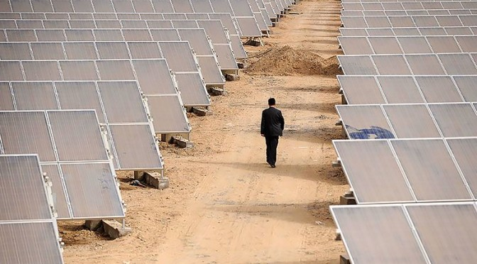 China leads the world in solar power growth