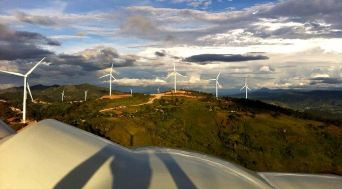 Wind energy in Honduras: Vestas wind turbines for a wind farm