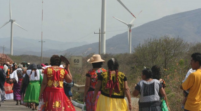 Wind power in Mexico: New wind farm in Oaxaca