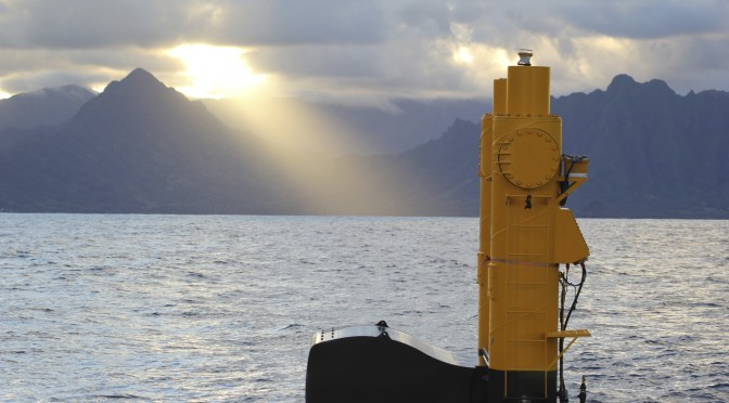 Northwest Energy Innovations launches wave energy device in Hawai'i