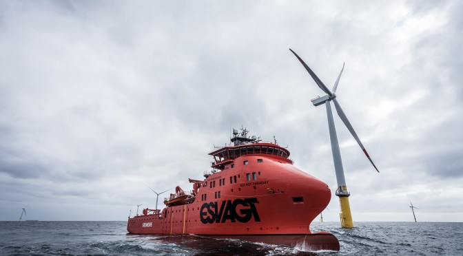 Siemens and Esvagt christen wind power industry's first offshore Service Operation Vessels