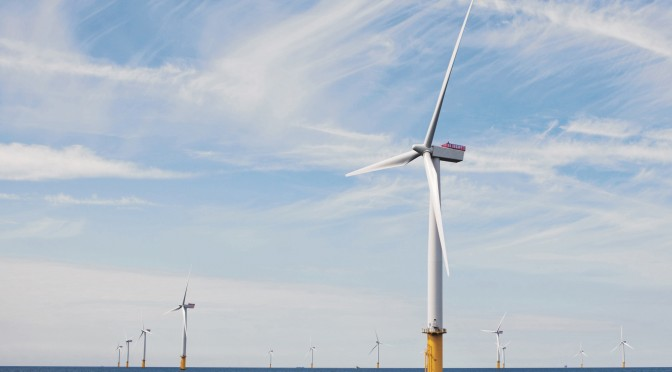Offshore wind power industry sets record year for installations in first half of 2015