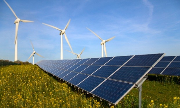 Increased use of renewable energy, solar energy and wind power, helps EU reduce GHG emission