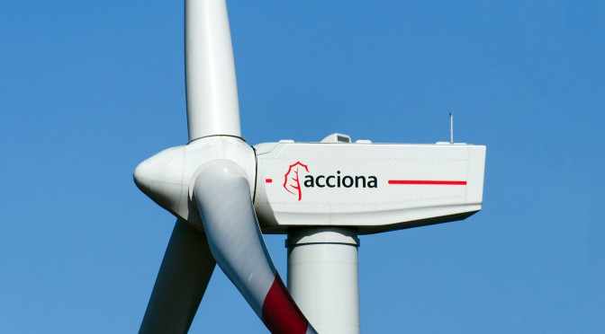 Acciona Windpower is awarded a new 66 MW wind energy contract in Brazil