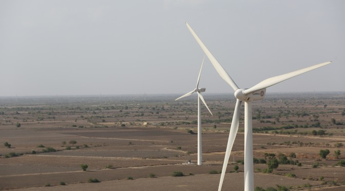 India wind power: 125 wind turbines supplied by Gamesa for 250 MW of wind energy to Orange