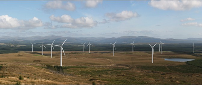 Iberdrola Starts Building UK Wind Farm