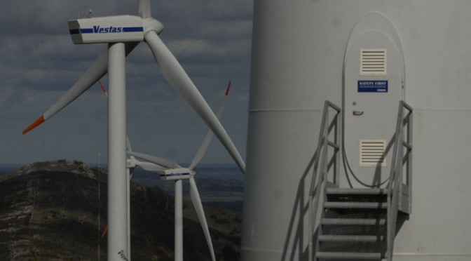 Wind power in Argentina: Vestas wind turbines for a wind farm