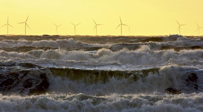 Wind energy provides 8 percent of Europe's electricity