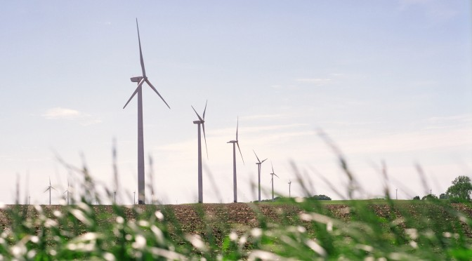 Groundbreaking at North Carolina's First Wind Farm with 150 Wind Turbines