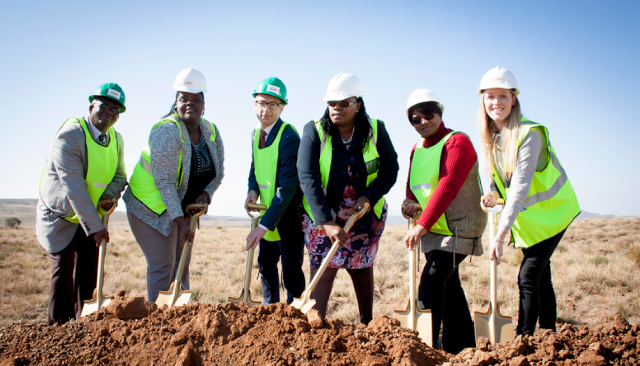 Wind power in South Africa: Noupoort Wind Farm breaks ground