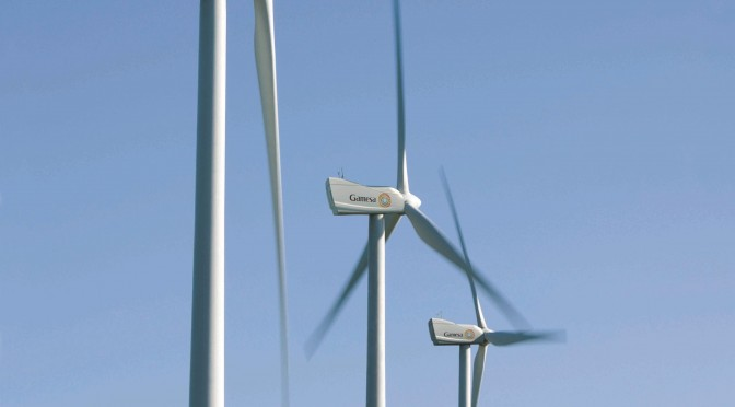 Wind energy in UK: Gamesa to install nine wind turbines to repower a wind farm