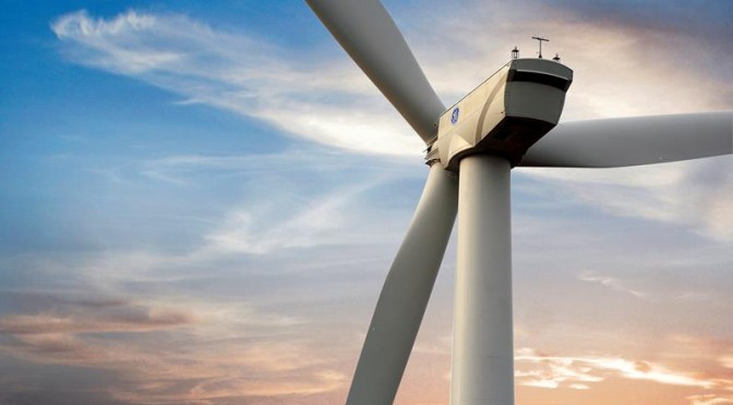 Wind power in Brazil: GE 156 wind turbines for wind farm
