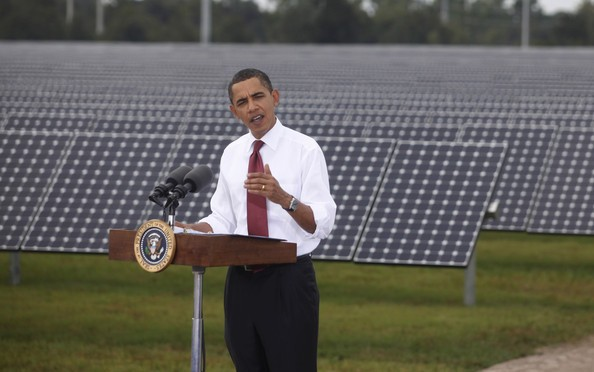 Solar energy and wind energy in the United States is likely to have a secure future thanks to President Barack Obama's plan