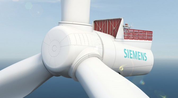 Veja Mate Offshore orders 67 Siemens wind turbines for wind power plant in Germany