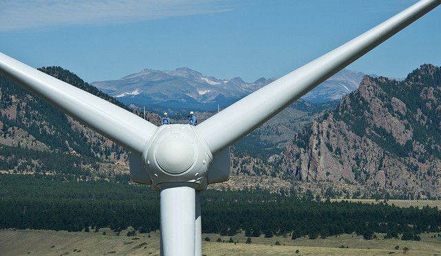 "Another form of ""hot air""? My journey to becoming a wind tech"
