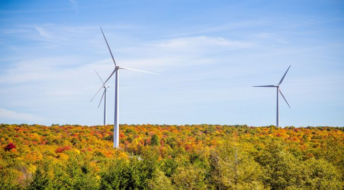 American wind power reaches lofty milestones