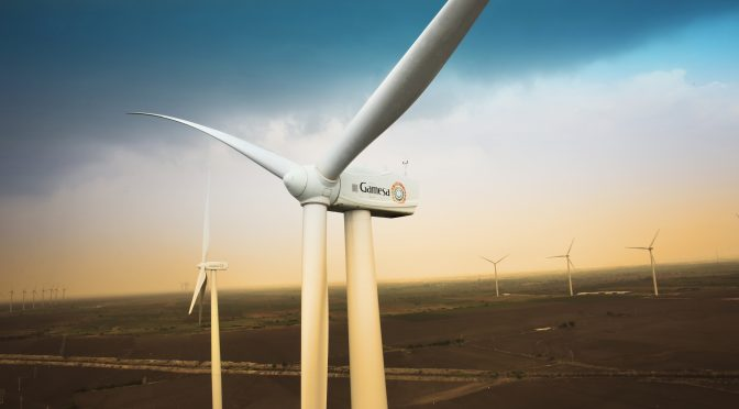 Gamesa reaffirms its leadership in India with orders for the supply of 278 MW at seven wind developments
