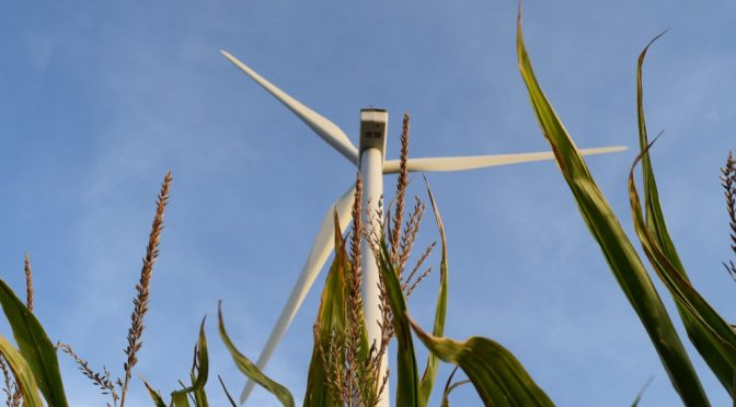 Wind power is creating American manufacturing jobs and rural economic development
