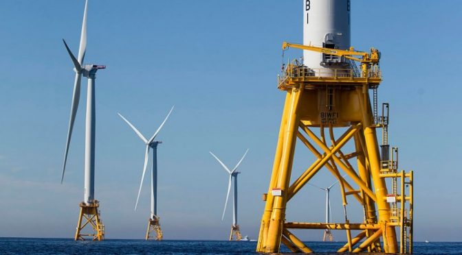 Germany expects 900 MW of new offshore wind energy in 2017