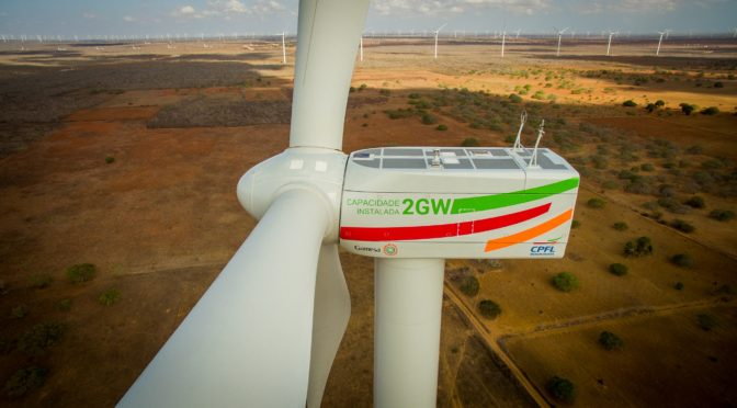 Wind power in Brazil: The number of wind turbines installed by Gamesa reaches the 1,000 mark