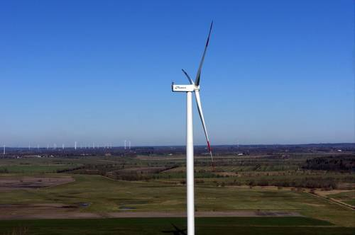 Nordex installs the first N131/3600 wind turbine