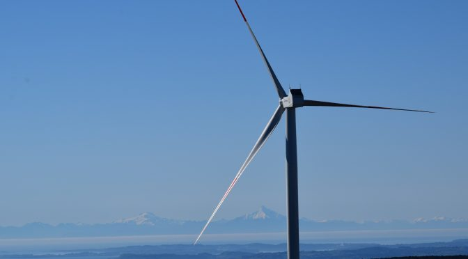 Wind energy in Chile: wind farm for Angol will have 8 wind turbines