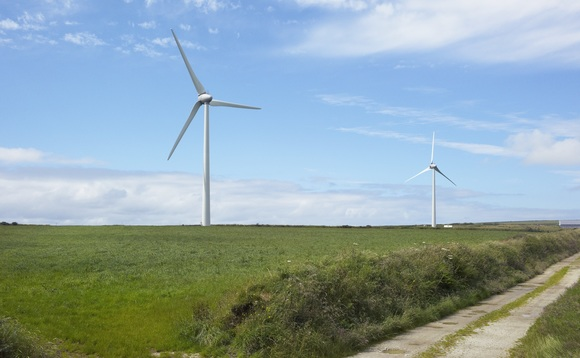 Northumberland wind farm fully operational