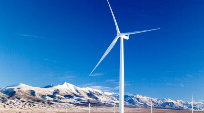 Wind energy, other renewable energy sources are the answer to climate change