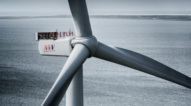 World's most powerful wind turbine selected for Belgium's largest offshore wind farm