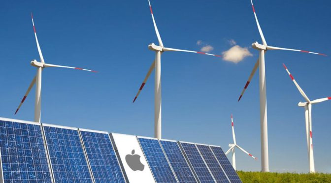Apple finally jumps on the wind power bandwagon