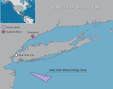 U.S. Sets Aside 80,000 Acres Offshore New York for Wind Energy Development
